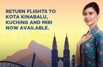 MAS Airlines: Flights to and from Kota Kinabalu, Kuching and Miri are now available.