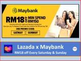 LAZADA x Maybank: Weekend Happy Hours Promotion 2021
