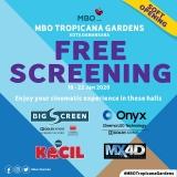 MBO Cinemas Tropicana Gardens Mall: FREE SCREENING from 18 January – 22 January 2020