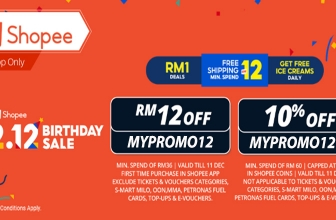 Shopee 12.12 x mypromo.my Exclusive Vouchers