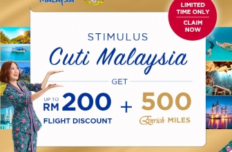 Malaysia Airlines: Claim up to RM200 Stimulus Cuti Malaysia
