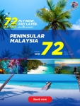 Malaysia Airlines: 72-Hour Domestic Sale is here