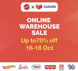 Lazada x Mattel Online Warehouse Sale 2020
