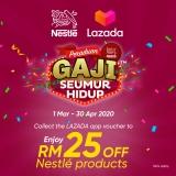 Touch 'n Go eWallet: Nestle Peraduan Gaji Seumur Hidup