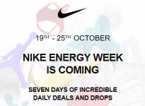 NIKE ENERGY WEEK 2020   19 – 25 OCTOBER