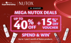 Shopee Super Brand Day: Nutox