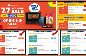 Shopee 7.7 Mid Year Sale: Opening Sale 18 June