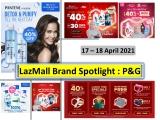 LazMall Brand Spotlight x P&G 2021