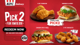 KFC: Pick 2 cravings for RM19.99!