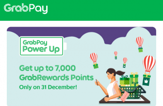 Power Up with GrabPay on 31 December 2020