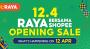 Raya Bersama Shopee Opening Sale Main Page