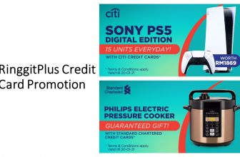 RinggitPlus Credit Card Promotion: 18 Jan – 21 Jan 2021