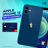 RinggitPlus Flash Deal: CITIBANK – FREE iPhone 12