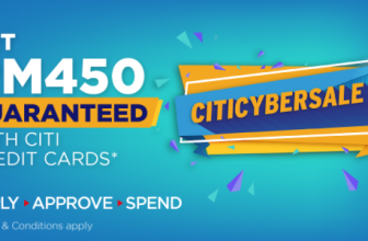 Apply Citibank Credit Card via RinggitPlus and Taking Home RM450 Cash