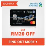 Shopee x Standard Chartered: Get RM20 Off on Mondays