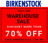 Birkenstock Year End Warehouse Sale
