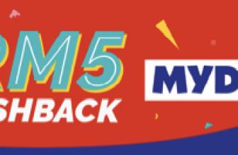 Mydin x Boost: RM5 Cashback