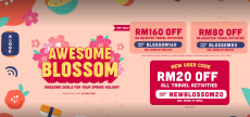 Klook: Awesome Blossom Promotions