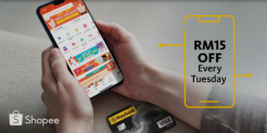 Shopee x Maybank Online Promotion: Get RM15 OFF every Tuesday