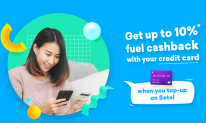 Setel Promotion: Get up to 10% fuel Cashback