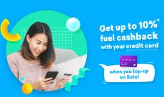 Setel Promotion: Get up to 10% fuel Cashback