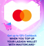Lazada x Mastercard up to 12% Cashback!