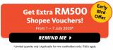 Maybank Shopee Visa Platinum credit card