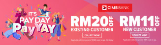 Lazada Voucher Codes: CIMB PayDay Deal