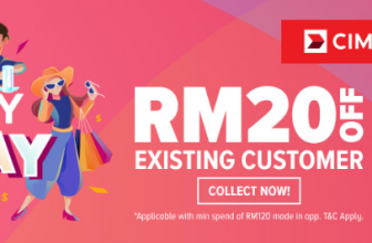 Lazada Voucher Codes: CIMB PayDay Deal January 2021