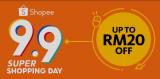Maybank x Shopee 9.9 Super Shopping Day Promo Codes