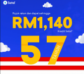Setel: Refer Friends & Get up to RM1140 Setel Petrol Credit!
