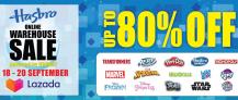 Lazada x Hasbro Online Warehouse Sale 2020