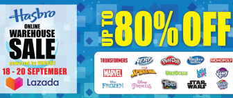 Lazada x Hasbro Online Warehouse Sale 2020