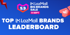 9.9 LazMall Big Brands Leaderboard 2020