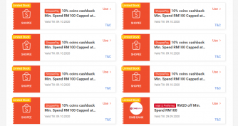 Shopee 10.10: Vouchers