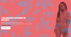 Adidas: Women in Sports-40% Off Women Apparel and Accessories!