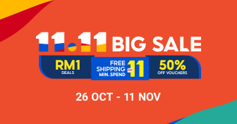 Shopee Big Sale 11.11 – Opening Sale (26 Oct)