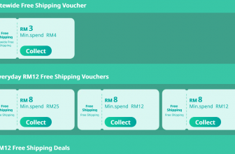 Lazada Free Shipping Voucher for May, 2021