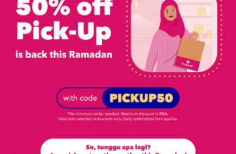 foodpanda Voucher Code: PICKUP50