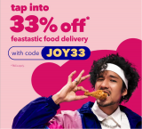 foodpanda Voucher Code: JOY33