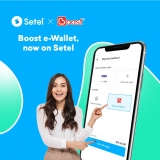 You can now top up your Setel Wallet with Boost e-Wallet