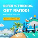 Setel: Refer 10 friends & get RM100 petrol credit