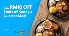 Setel: Enjoy RM10 off 2 sets of Kenny's Quarter Meal