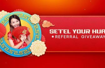 Setel Promotion: Refer 3 friends and get RM30 Setel Credit & Win