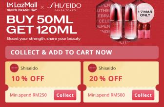 LazMall x Super Brand Day: Shiseido 8 March