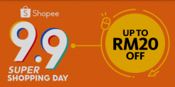 Maybank: Shopee 9.9 Super Shopping Day