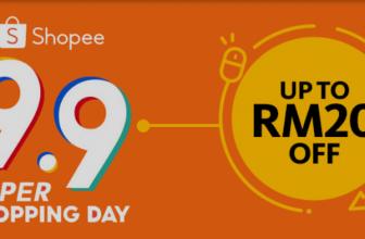 Maybank: Shopee 9.9 Super Shopping Day