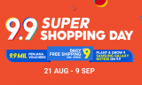 Shopee 9.9 Super Shopping Day | (October 2020)