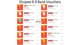 Collect Shopee 9.9 Bank Vouchers 2021