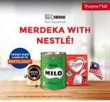 Shopee: Merdeka with Nestle